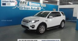 2016 Land Rover Discovery Sport SD4 HSE